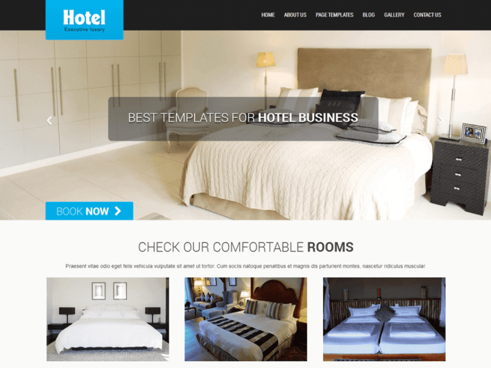 7 Free Hotel And Resort WordPress Themes In 2018