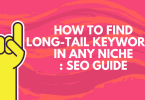 tools to find long-tail keywords