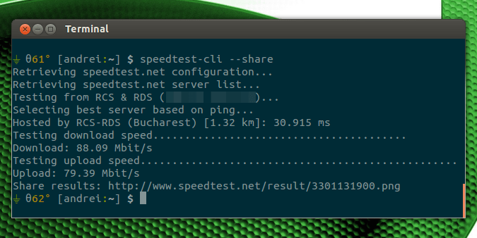 Tutorial To Test Internet Speed In Linux Using Command Line