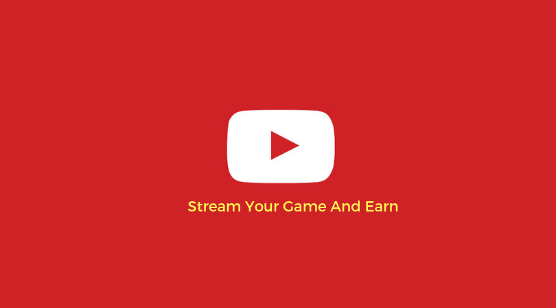 Stream Your Game And Earn