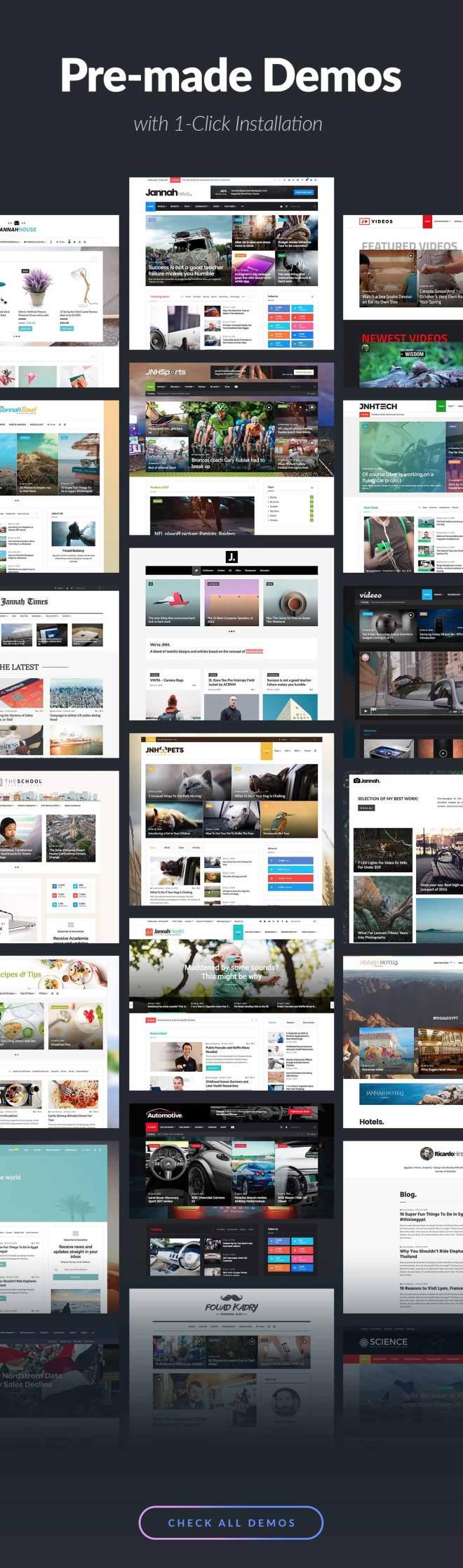 Technology Blog WordPress Theme Collection