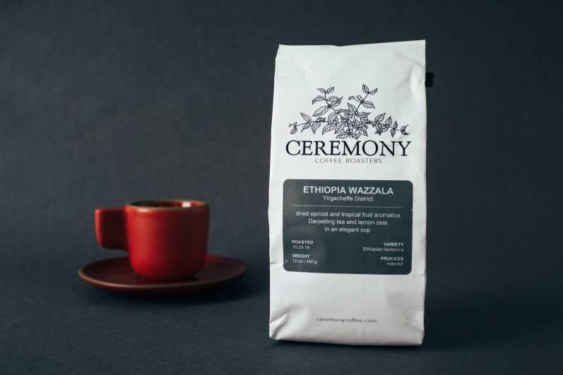 Ceremony Coffee's Ethiopia Wazzala