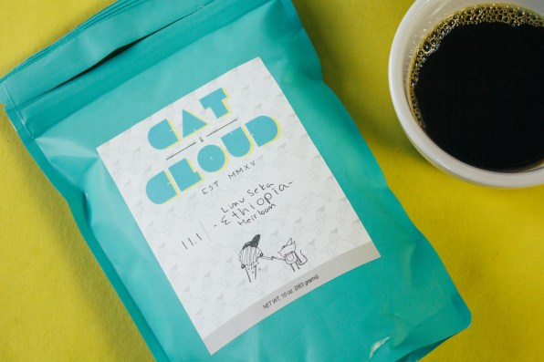 Cat & Cloud's Limu Seka Ethiopia Heirloom
