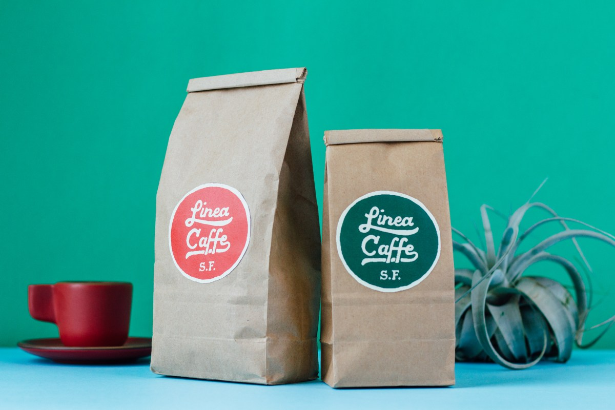 Linea Caffe coffee bags | Unpacking Coffee | Photo by Needmore Designs