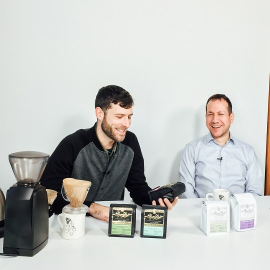 Marty Lopes and Ray chat about Roseline Coffee