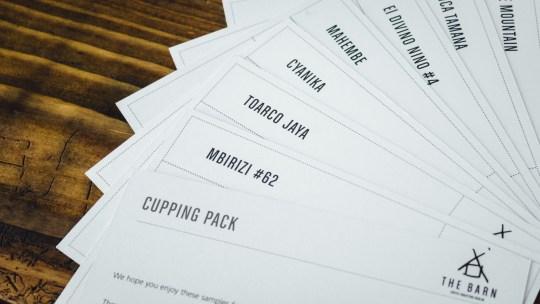 The Barn Coffee Roasters Berlin cards