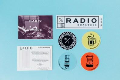 Radio Roasters Sticker Grid