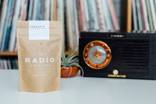 bag black retro radio