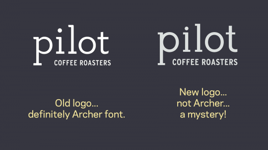 Pilot new logo