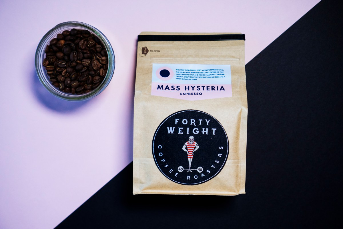 Forty Weight Mass Hysteria coffee