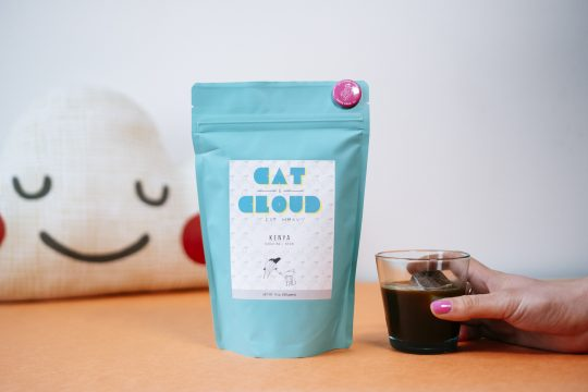Cat & Cloud coffee