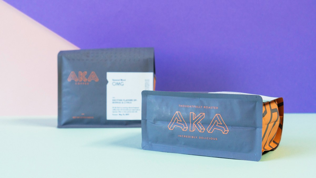 AKA Coffee Packaging