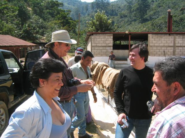 George Howell & Duane Sorenson El Injerto Feb 2006 / Photo courtesy Andrew Barnett