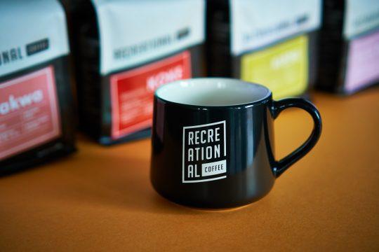 example of the recreational logo on mug