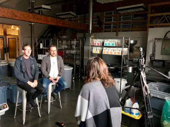 Unpacking Coffee talks with Evan and Graham of Dapper and Wise Coffee