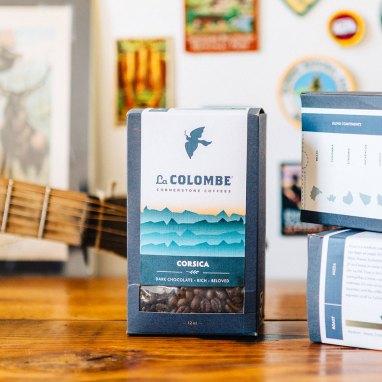 La Colombe Coffee Roasters boxed Corsica coffee