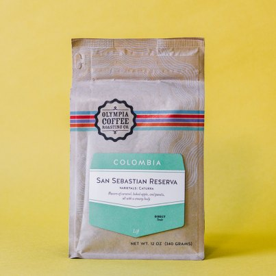 Olympia Coffee Roasting Co. San Sebastian Reserva Colombia coffee