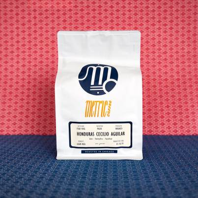 Metric Coffee Honduras Cecilio Aguilar coffee