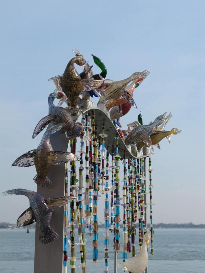 Glass sculpture in Murano, Venice