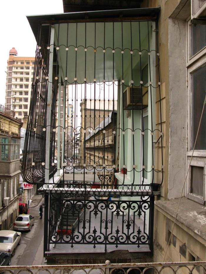 Balcony in Baku Azerbaijan
