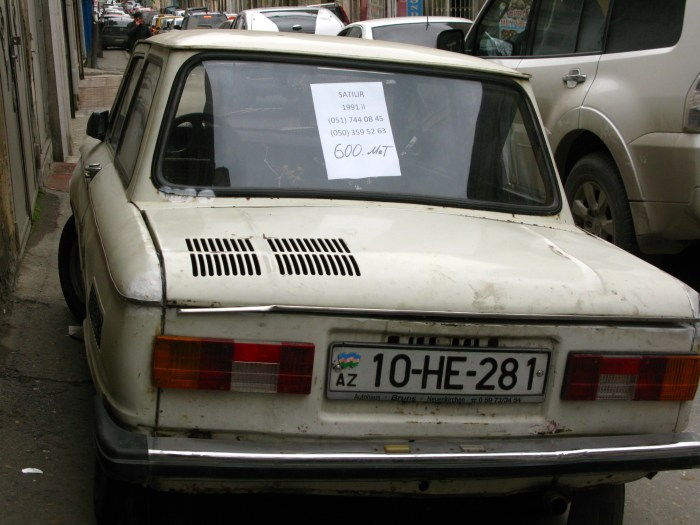 car for sale Baku Azerbaijan