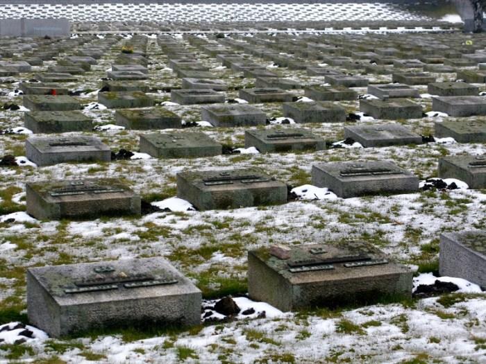 National Cemetery Terezín Czech Republic