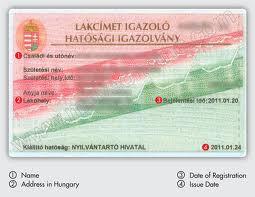 address card