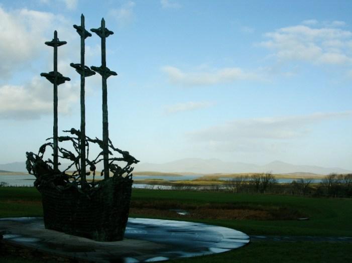 Famine memorial Croagh Patrick Murrisk Co. Mayo Ireland