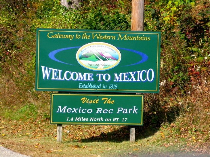 Mexico, Maine