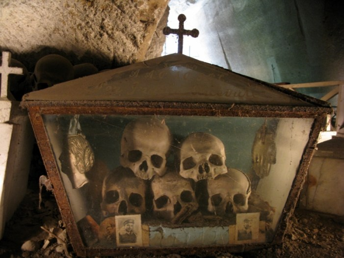 Fontanelle Cemetery Naples Italy