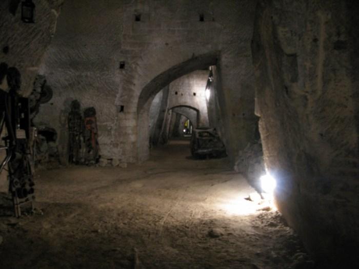Bourbon tunnels Naples