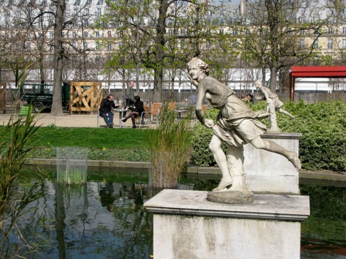 Paris, France Jardin des Tuileries