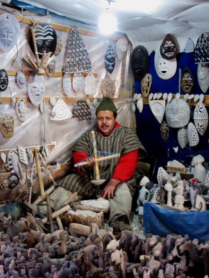 shopping in the High Atlas
