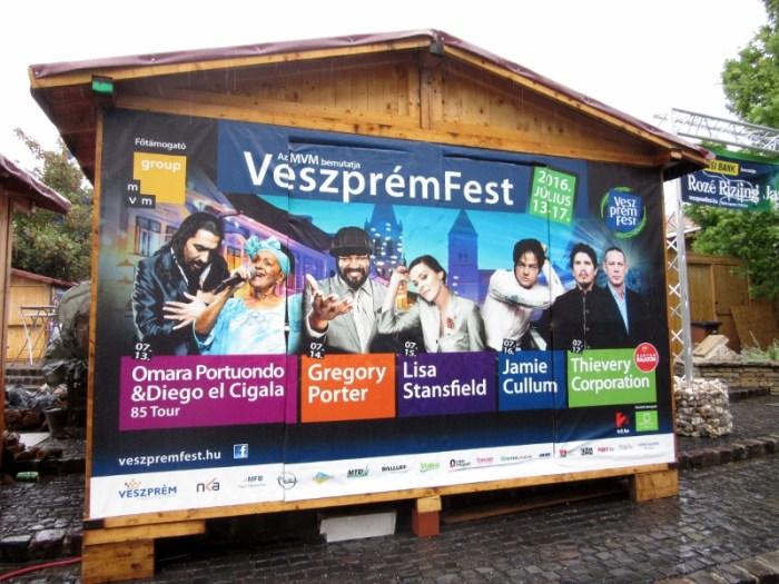 Veszprém Fest 2016 poster
