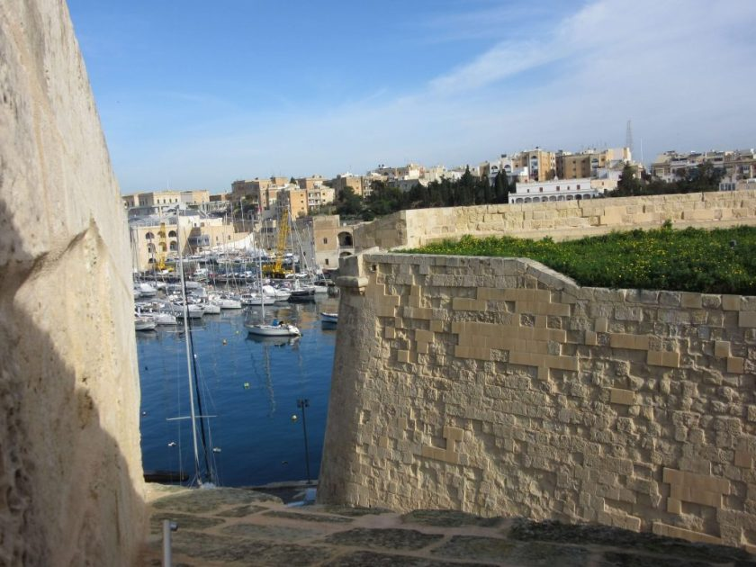 battlements at Birgu