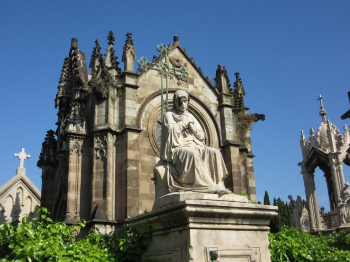 Poblenou Cemetery Barcelona Spain