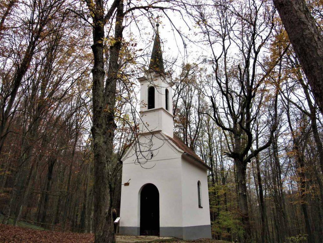 St Vida's chapel Dobrovnik Slovenia