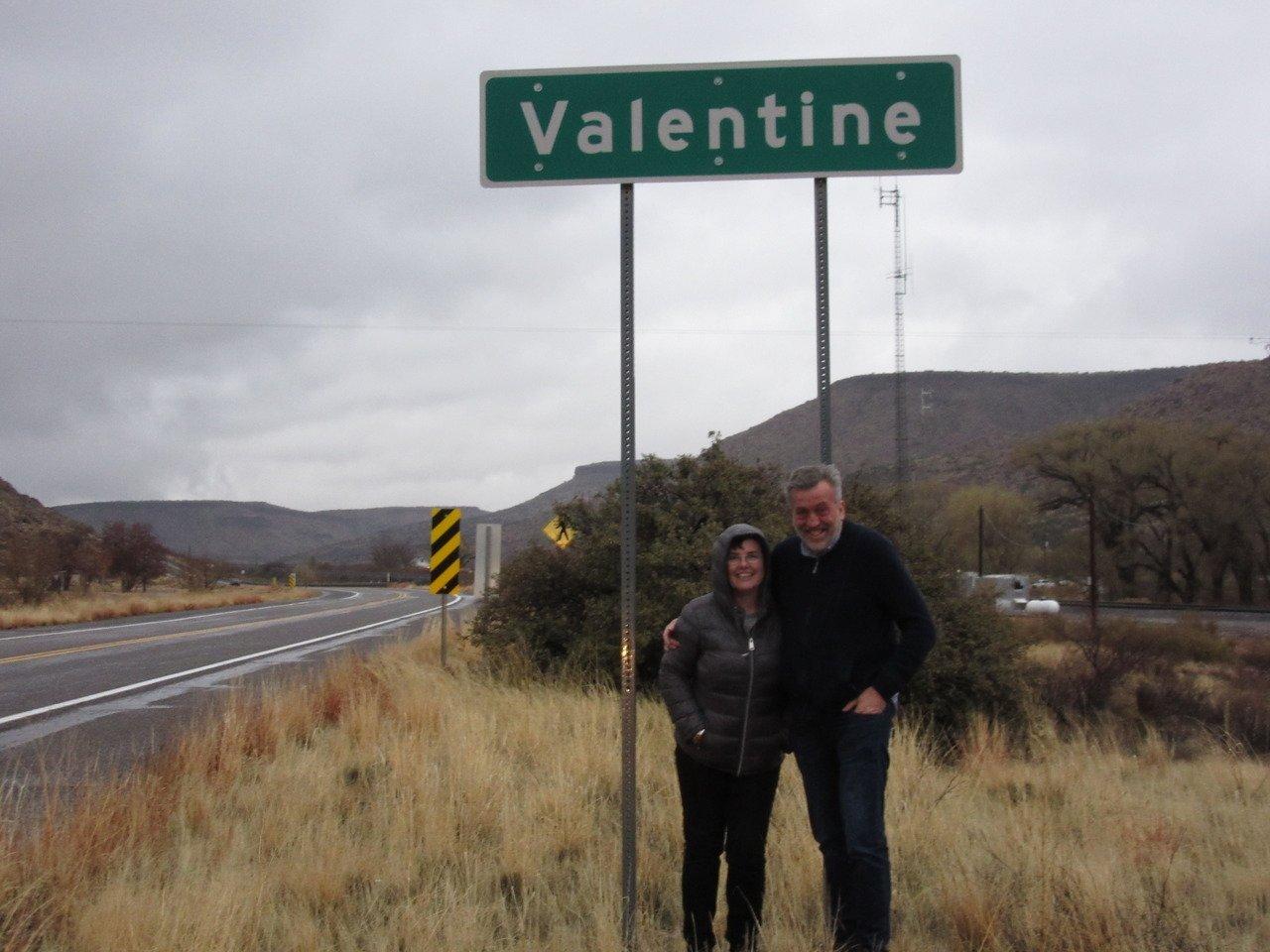 Valentine's Day at Valentine AZ