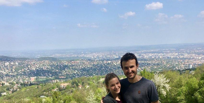 Juli and Flo Catch Budapest