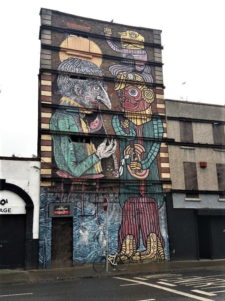 Graffiti in Dublin near the North Strand