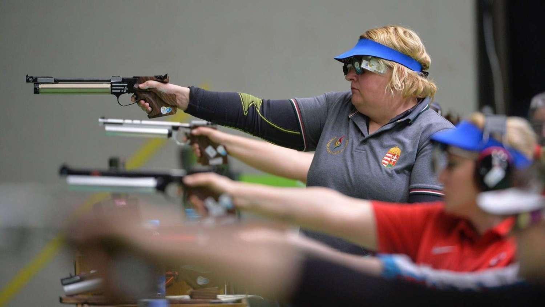 Krisztina Dávid shooting in Rio