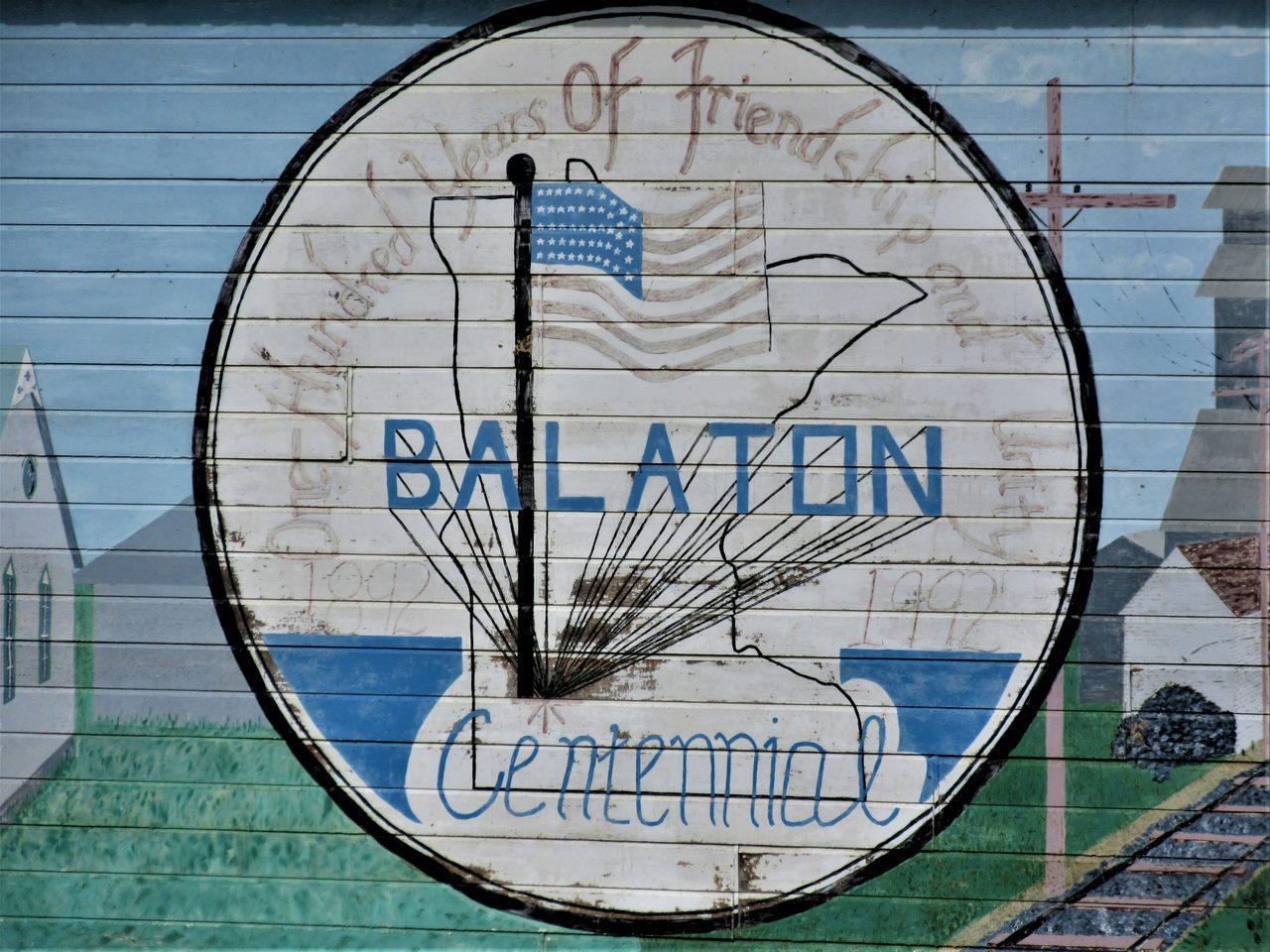 Centennial mural Balaton Minnesota