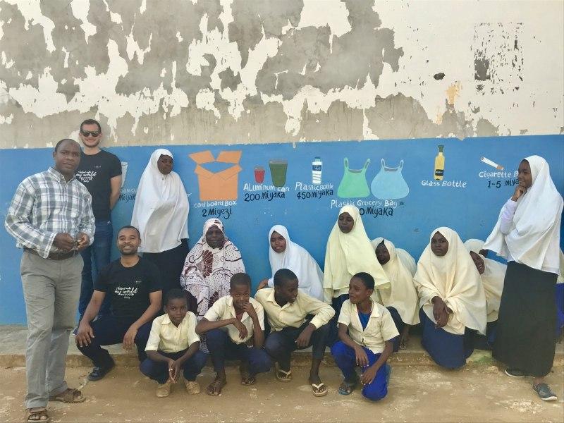Pollution awareness program in Kama village school with Zanzi Resort