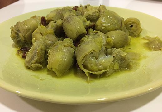 alcachofas-con-jamon