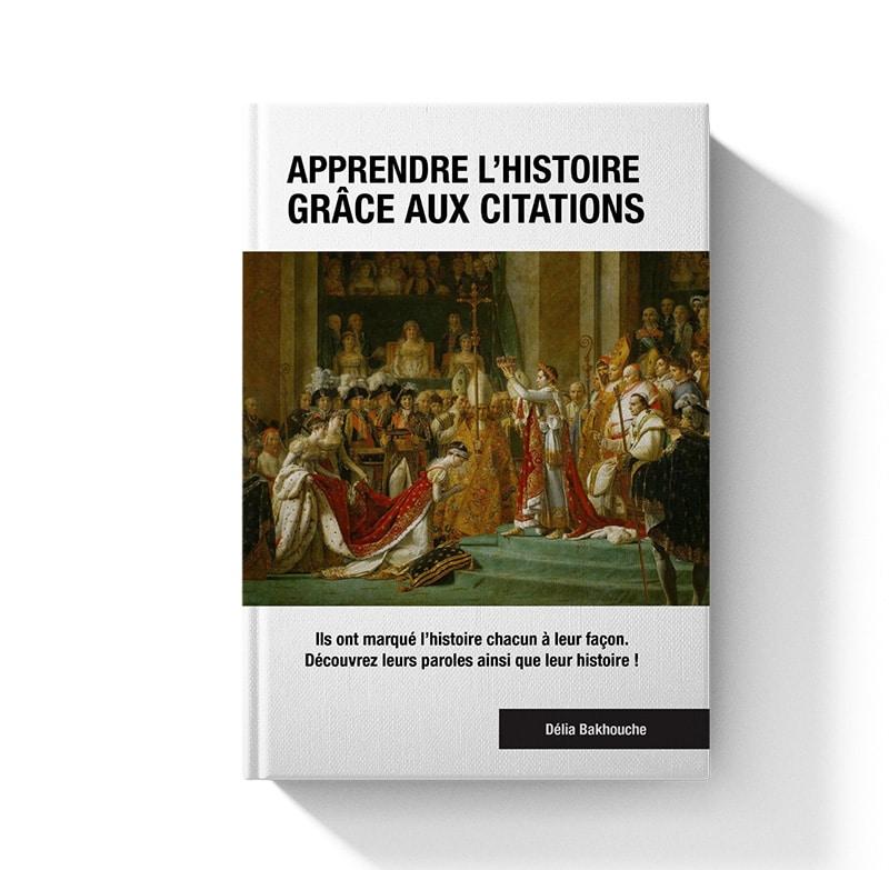 livre apprendre l'histoire grâce aux citations