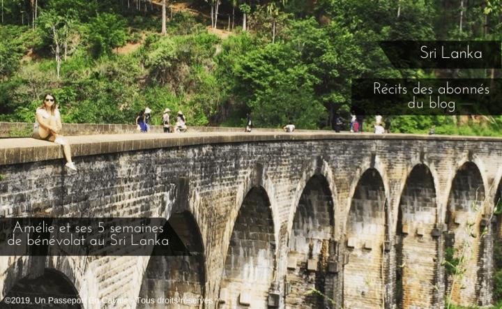 Amélie et ses 5 semaines de bénévolat au Sri Lanka