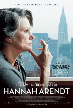 HANNAH ARENDT (2012) – DIR. MARGARETHE VON TROTTA (ALEMANIA-LUXEMBURGO-FRANCIA) – DRAMA https://unpastiche.org/category/52peliculasdedirectoras/