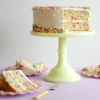 Buttermilk Birthday Sprinkle Cake