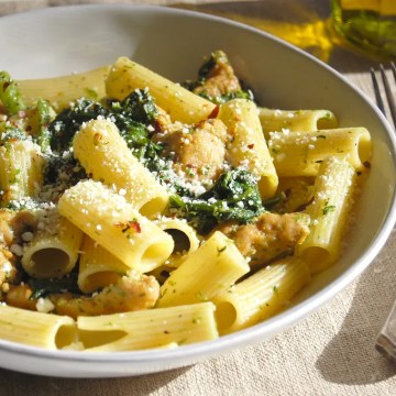 Pasta With Chicken Sausage and Broccoli Rabe - Unpeeled