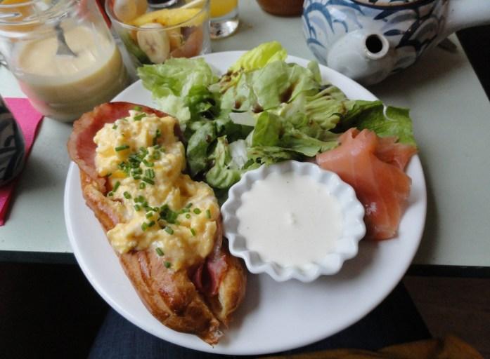 Le Lapin Blanc - Tonnerre d'oeufs brouillés au bacon